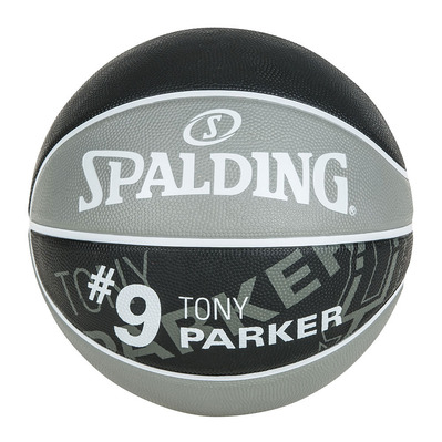 NBA PLAYER TONY PARKER - Balón grey/black
