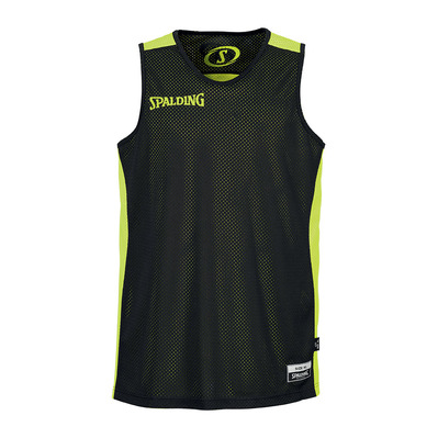 ESSENTIAL - Camiseta reversible hombre black/fluo yellow