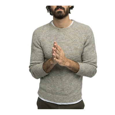 PUL1101A-12020 - Jersey hombre heather grey