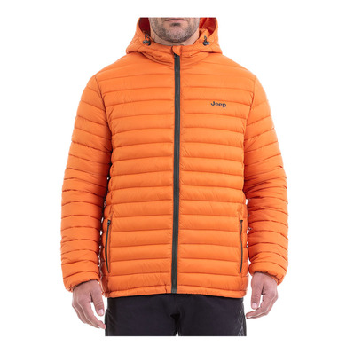 Outfitter O101580 - Anorak hombre apricot orange/forest night