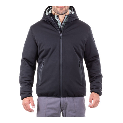 Outfitter PADDED SOFTSHELL - Chaqueta hombre black
