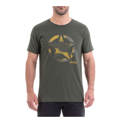 Outfitter STAR - Camiseta hombre forest night/antique moss
