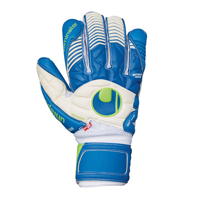 AQUASOFT OUTDRY - Gants gardien white/pacific blue/green