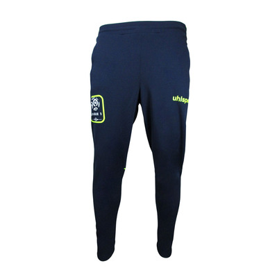 LIGUE 1 - Jogging Junior marine blue/yellow fluo