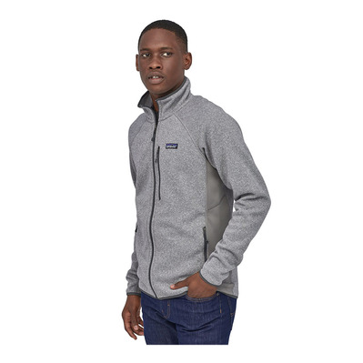 PATAGONIA - M's LW Better Sweater Jkt Homme Feather Grey