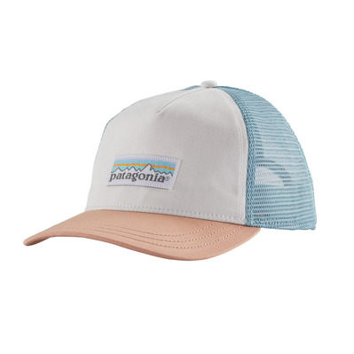 PATAGONIA - PASTEL P-6 LABEL LAYBACK - Cappellino Donna white