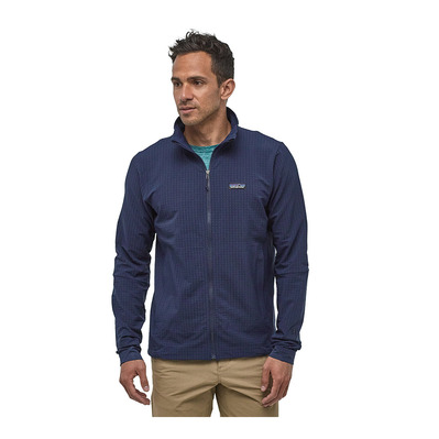PATAGONIA - R1 TECHFACE - Polaire Homme classic navy