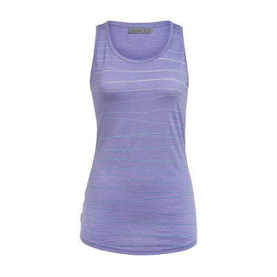 ICEBREAKER - Wmns Spector Tank Landscape Lines / Orchid XS Femme Orchid