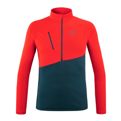 MILLET - ELEVATION ZIP LS M Homme ORION BLUE/FIRE