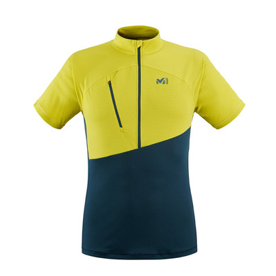MILLET - ELEVATION - Maillot Homme orion blue/wild lime