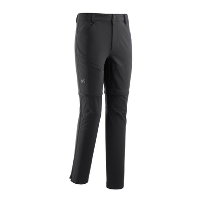 MILLET - TREKKER STRETCH OFF - Pantalon convertible Homme black