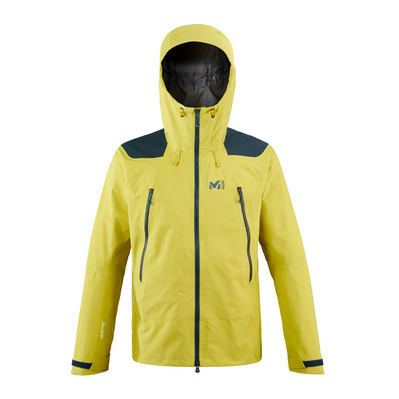 MILLET - K ABSOLUTE GTX - Chaqueta hombre wild lime