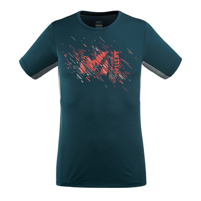 MILLET - LTK PRINT LIGHT TS SS M Homme ORION BLUE