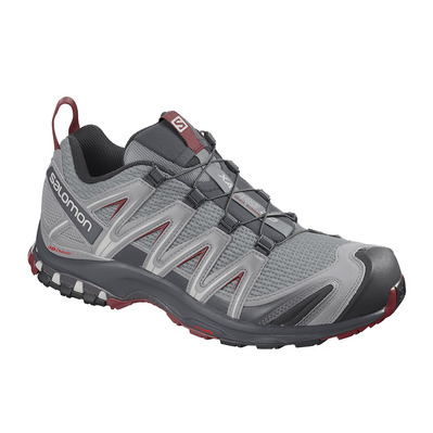SALOMON - Shoes XA PRO 3D Monument/Ebony/Rd Dahlia Homme Monument/Ebony/Rd Dahlia