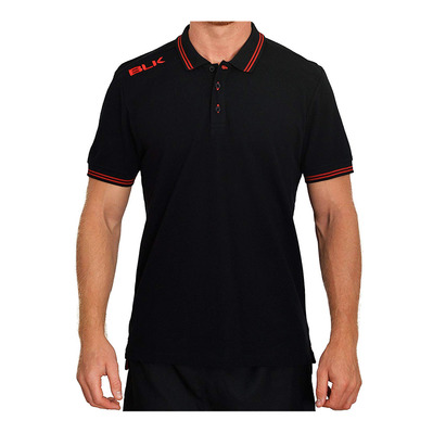 420250001 - Polo Homme black/red