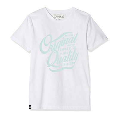 Kaporal AFUR - Tee-shirt Junior optical white