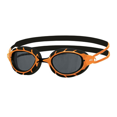 ZOGGS - PREDADOR - Gafas de natación polarizadas orange/black/smoke