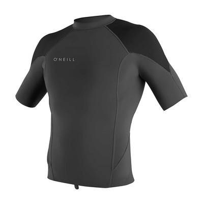 O'NEILL - REACTOR-2 1mm - Rashguard Uomo graphite/black/cool grey