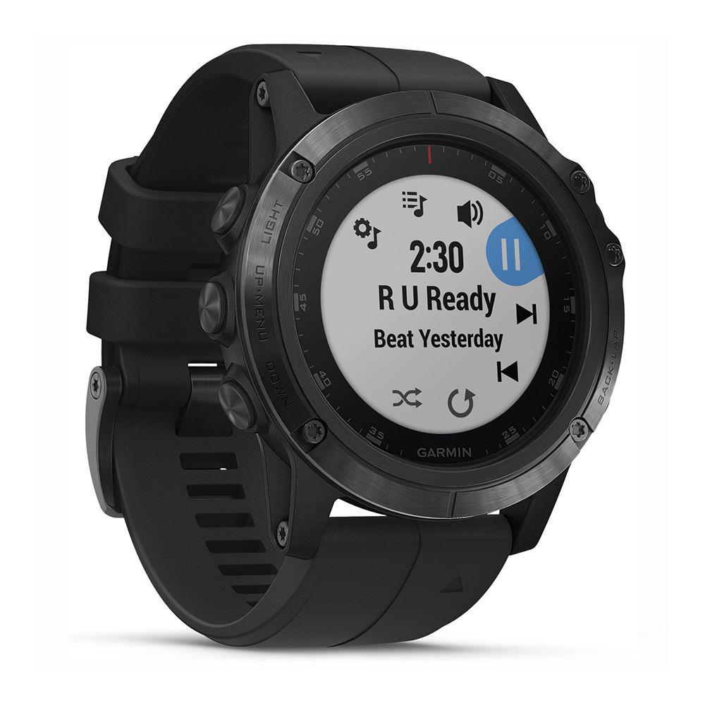 GARMIN Garmin FENIX 5X PLUS Reloj conectado GPS black