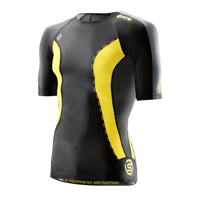 DNAMIC - Maillot Homme black/citron