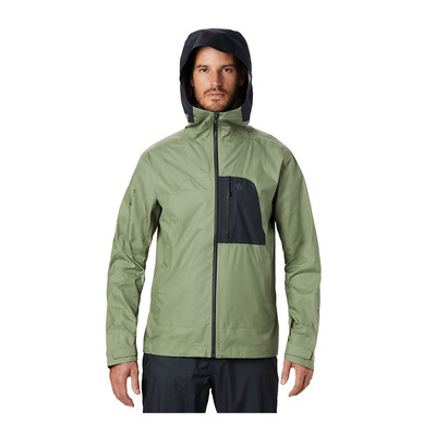 MOUNTAIN HARDWEAR - EXPOSURE 2 GTX - Chaqueta hombre field