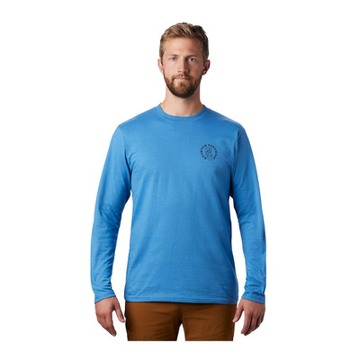 MOUNTAIN HARDWEAR - TREASURE CHEST - Tee-shirt Homme deep lake