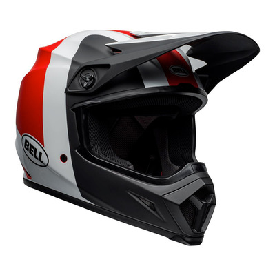MX-9 MIPS® PRESENCE - Casco off-road black/white/red