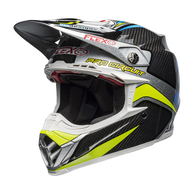 MOTO-9 FLEX PRO CIRCUIT REPLICA 19 - Casque off-road black/green