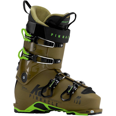 PINNACLE 130 SV - Botas de esquí hombre green