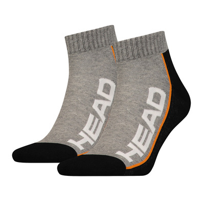 PK1438 - Chaussettes x6 grey/black/orange