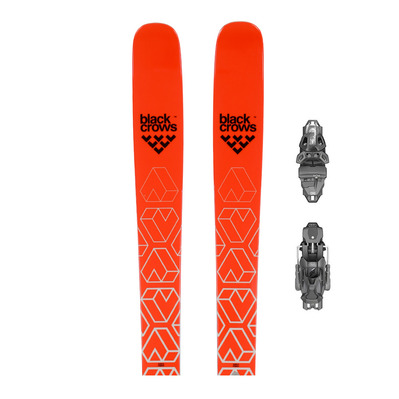 CAMOX RT 18/19 - Skis all mountain Homme + Fixations PRD 12 MBS B95 solid black