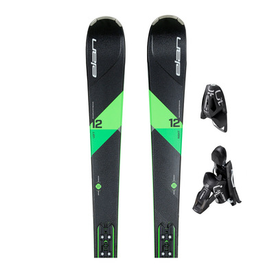 AMPHIBIO 12 TI OB PS - Skis all mountain + Fixations ELX 11.0