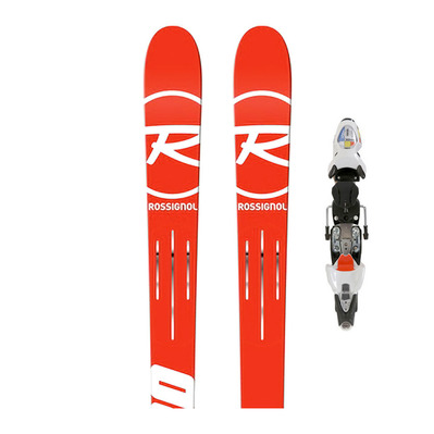 HERO FIS GS F35 - Skis géant Homme + Fixations AXIAL 3 150 B73 MXF white/red
