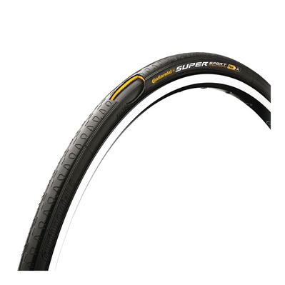 Continental SUPER SPORT PLUS 700x23c - Neumático flexible fixie negro