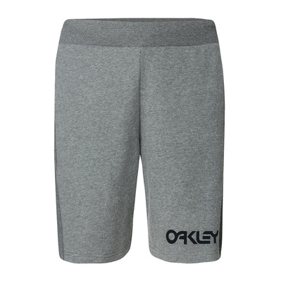 OAKLEY - REVERSE FLEECE - Short Uomo new granite hthr