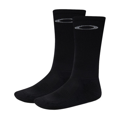 OAKLEY - LONG SOCKS 3.0 - Cycling Socks - Men's - blackout