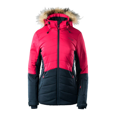 ISLA - Anorak de esquí mujer total eclipse/ambil red