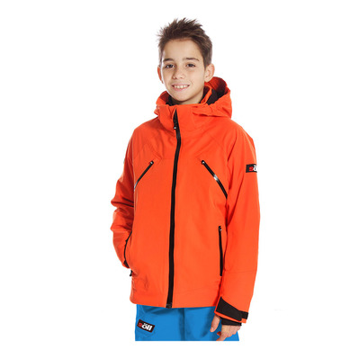 ENDURO - Veste ski Junior naranja