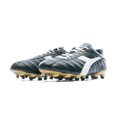 BAGGIO 03 K MG14 - Crampons Homme black/white/gold