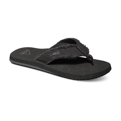 QUIKSILVER - MONKEY ABYSS - Chanclas hombre black/black/brown