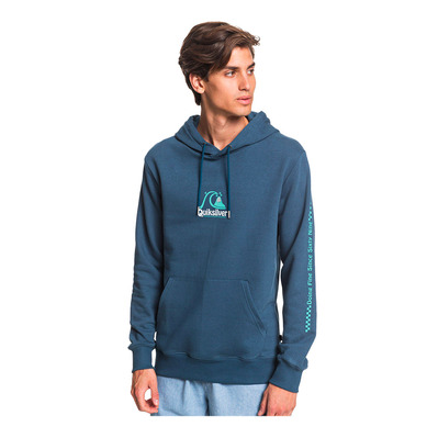 QUIKSILVER - EMPTY ROOMS - Sweat Homme majolica blue