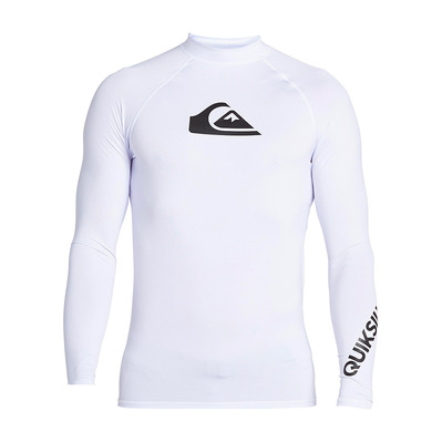 QUIKSILVER - ALL TIME - Lycra Uomo white