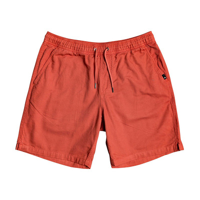 QUIKSILVER - BRAIN WASHED - Short Homme redwood
