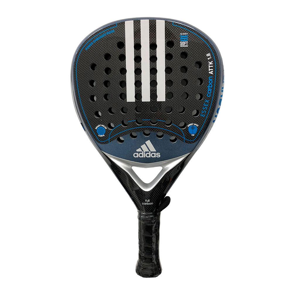 abrigo Destreza tabaco  PADEL SPECIAL Adidas ESSEX CARBON ATTACK 1.8 - Padel Racket - silver -  Private Sport Shop
