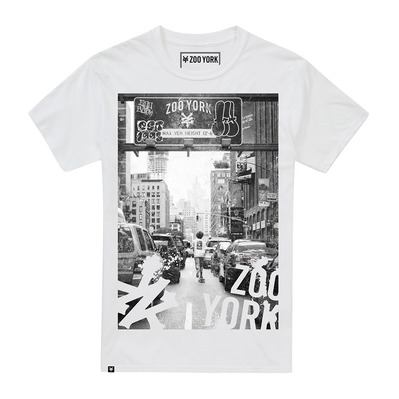 WELCOME TO ZY - Camiseta hombre white