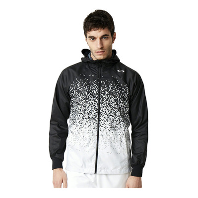 ENHANCE WIND HOODY GRAPHIC 9.0 - Chaqueta hombre blackout