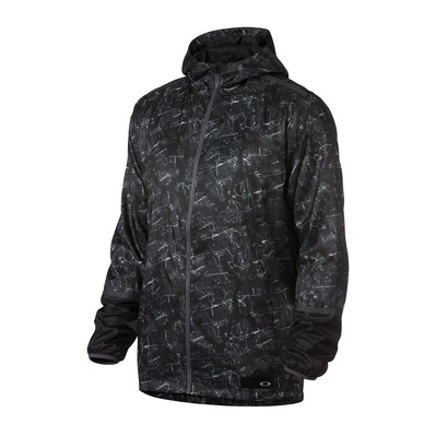 GRAPHIC WIND 17.03 - Chaqueta hombre blackout