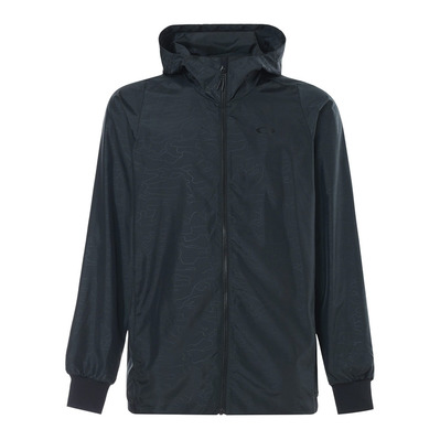 ENHANCE EMBOSS WIND 8.7 - Chaqueta hombre blackout