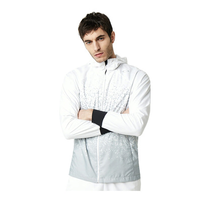 ENHANCE WIND HOODY GRAPHIC 9.0 - Chaqueta hombre white