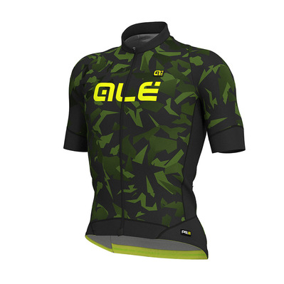 Alé PRR GLASS - Maillot Homme black/army green